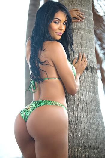 a curvy drop-dead gorgeous Cuban woman