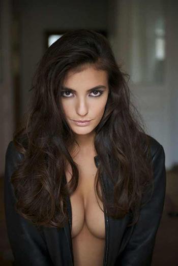 a hot Greek woman