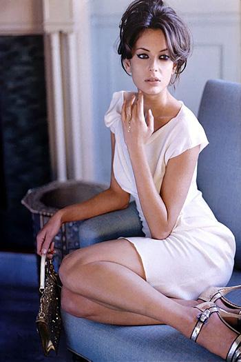 a beautiful Hungarian actress