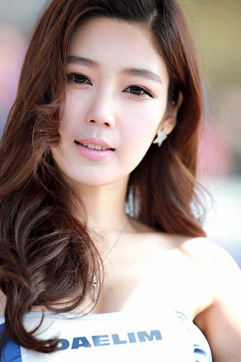 a beautiful Korean girl