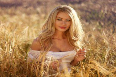 a beautiful Belarus girl