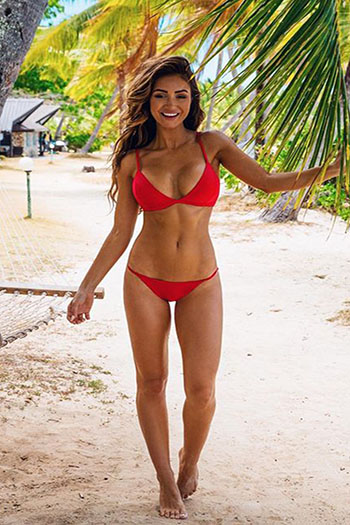 a hot Brazilian woman