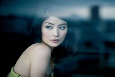 a beautiful Chinese woman with dark hair
