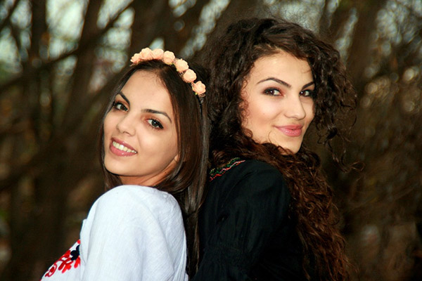 Two beautiful Czech girls