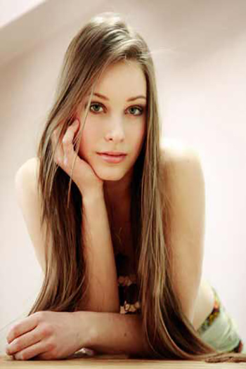 a beautiful young Estonian lady