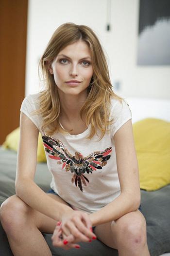 a beautiful young Latvian woman