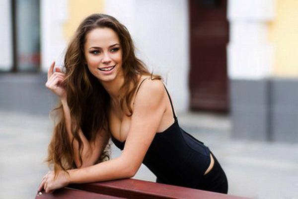a beautiful girl from Ukraine