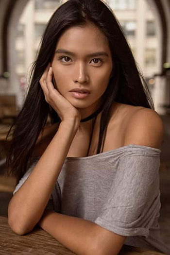 a gorgeous Southeast Asian girl