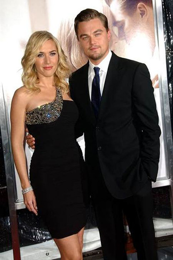 Leonrdo DiCaprio and Kate Winslet