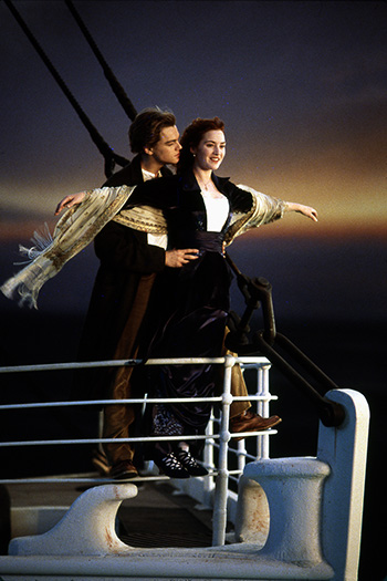 Titanic movie moment