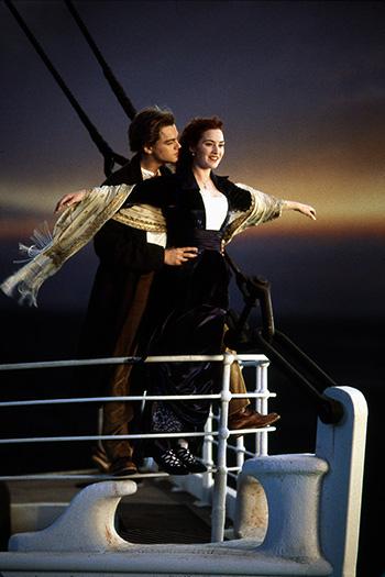 Titanic movie moment