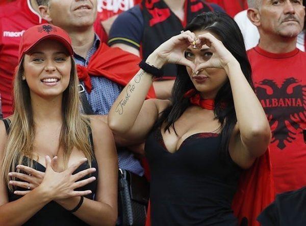 Albanian beauty loves