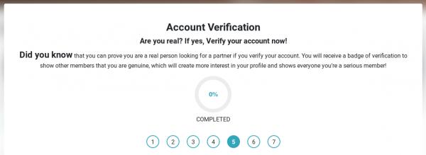 acount verify