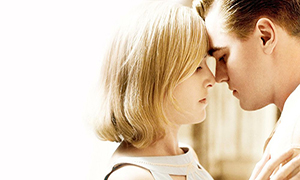 Revolutionary Road kissing scene