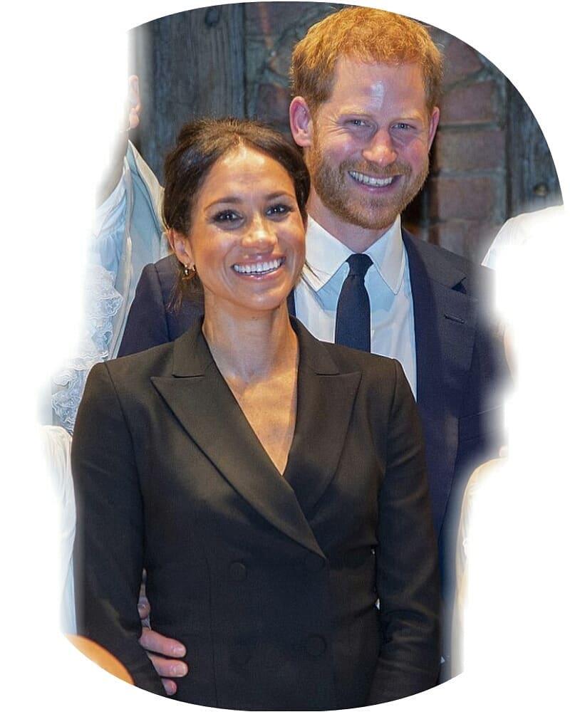 Meghan Markle met Prince Harry