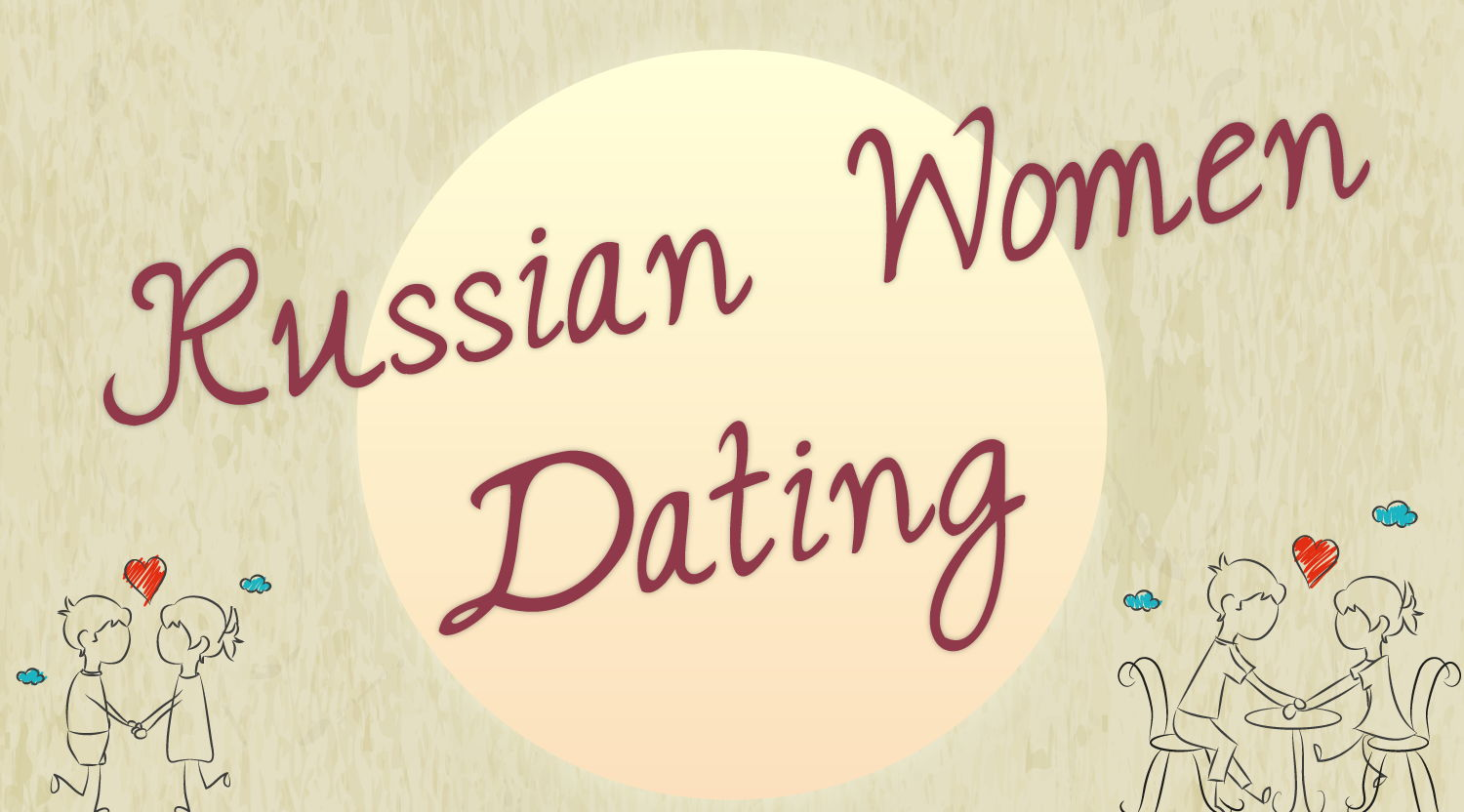 Russian women dating (Infographic)