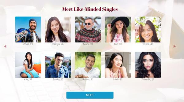 asia charm singles