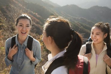 some girls from China